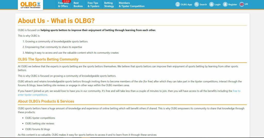 OLBG com отзывы