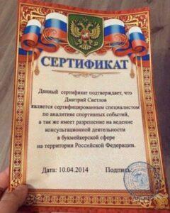 Телеграмм Дмитрия Светлова