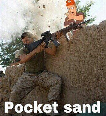 pocket sand