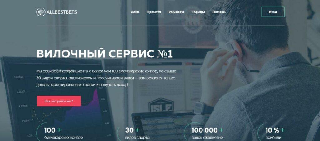 Статистика сканера сканер Allbestbets ru (Аллбестбетс ру)