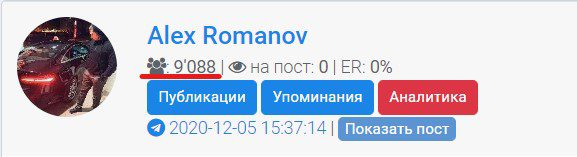 alex romanov статистика