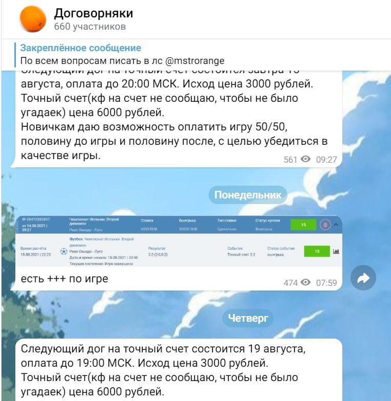 Заводной апельсин Telegram
