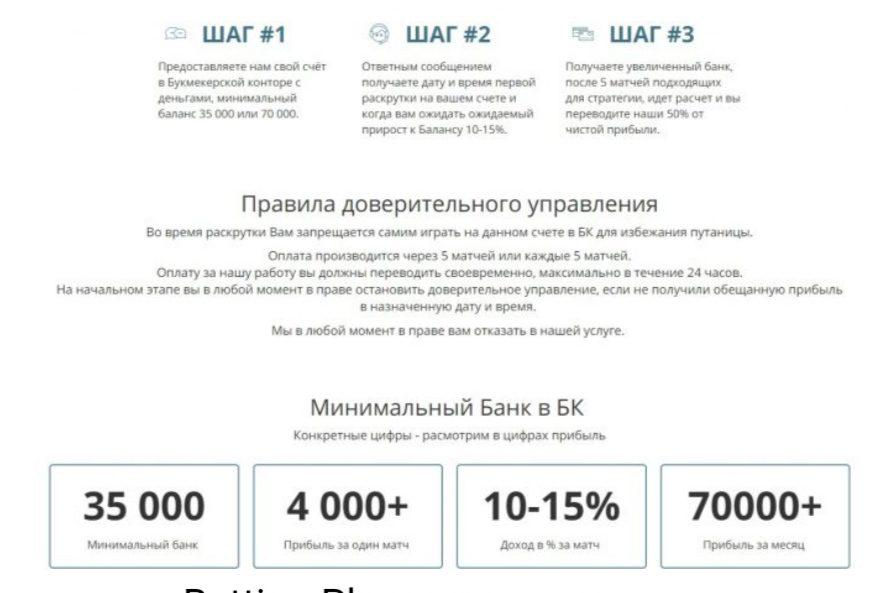 Услуга по доверительному управлению игровым счетом от Руслана Леви