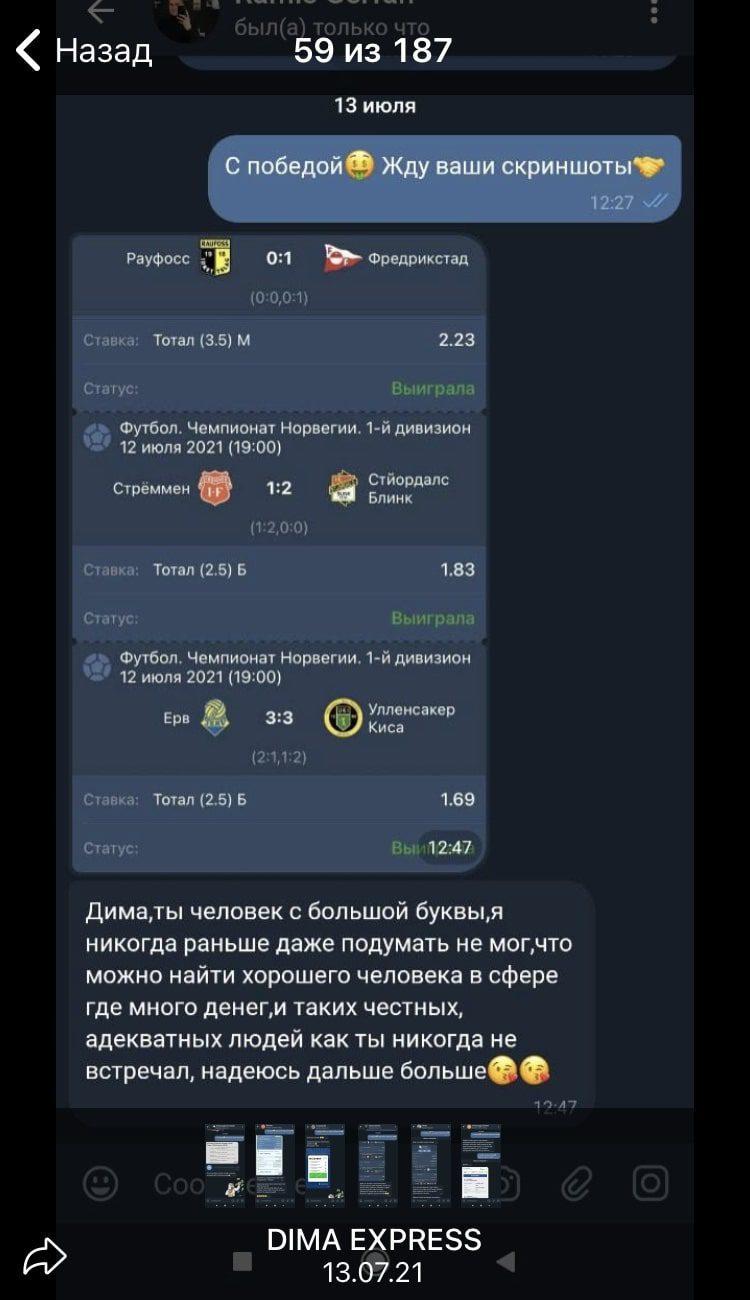 Дмитрий Абрамов - ставки на спорт