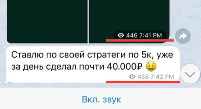 Телеграм канал Money Room - просмотры