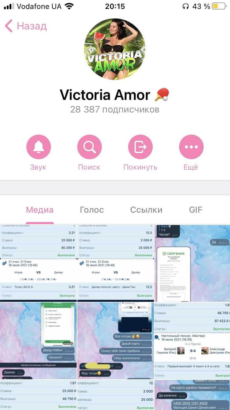 Victoria Amor (Brans) - Телеграмм канал