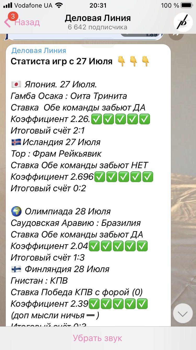 Как работает каппер Деловые Линии