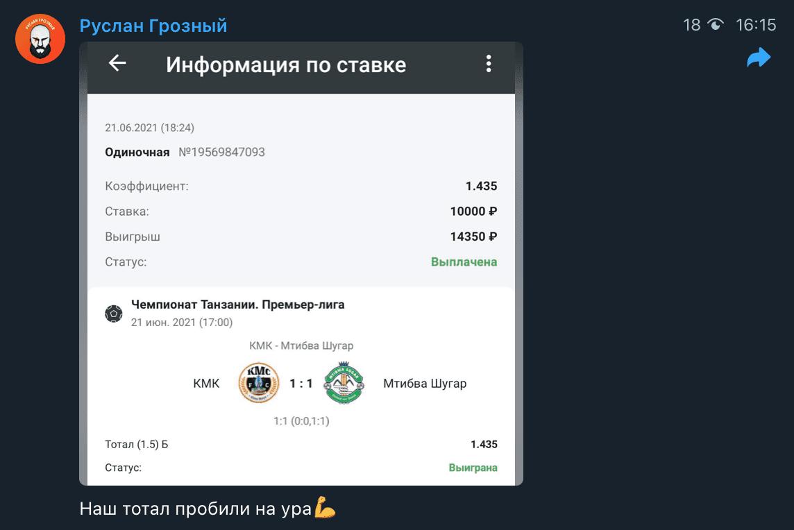 Прогноз от Руслана Грозного