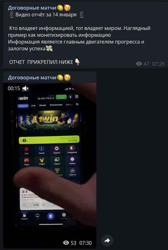 Владимир Стаховский отчет