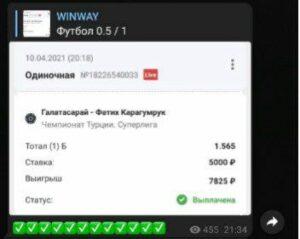 winway статистика